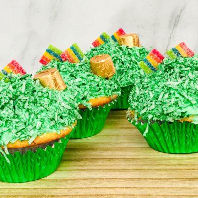 St. Patrick's Day Cupcakes – Easy & Kids Love Them