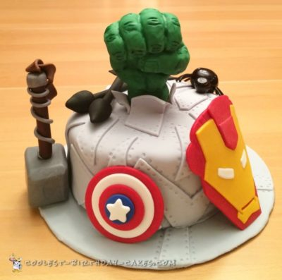 Avengers Theme Cake 50 Ideas For Birthdays And Beyond