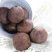 Chocolate Protein Muffins, Easy Chocolate Protein Muffins, Chocolate Chip Protein Muffins