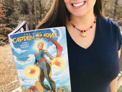 DIY Captain Marvel, Captain Marvel Necklace, Captain Marvel Hala Star, Captain Marvel DIY Costume Necklace, DIY Superhero Craft, Teen Craft