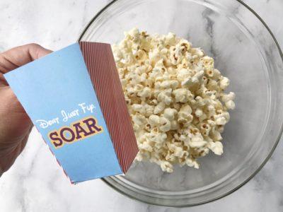 Printable Dumbo Popcorn Bucket, Dumbo Snack Mix, Disney Snack Mix Recipe, Dumbo Inspired Recipe