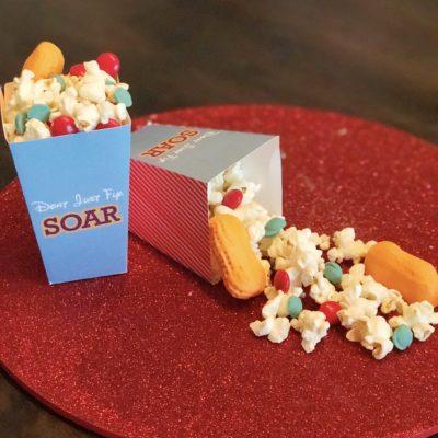 FREE Printable Dumbo Popcorn Bucket + Dumbo Inspired Snack Mix