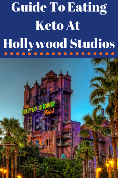 Complete guide to eating kept at Hollywood Studios in Disney World. From the best places to eat and which to avoid. #Disney #Keto #KetoDiet #DisneyWorld #WaltDisneyWorld