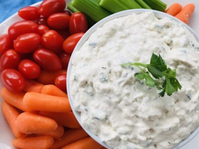 Vegetable Dip Recipe, Easy Vegetable Dip, Cottage Cheese Vegetable Dip, Party Appetizer, Party Food, Make Ahead Party Food