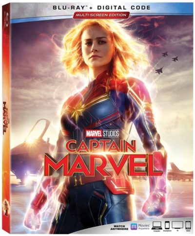 Enter to win a copy of Marvel's Captain Marvel on Blu-Ray DVD.