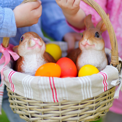 53 Candy Free Easter Basket Ideas That They'll Love