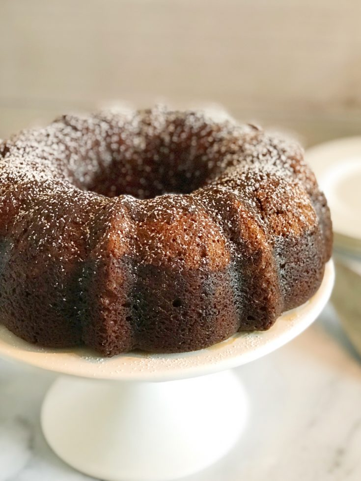 Chocolate Kahlua Cake: A Boozy Bundt Cake Recipe