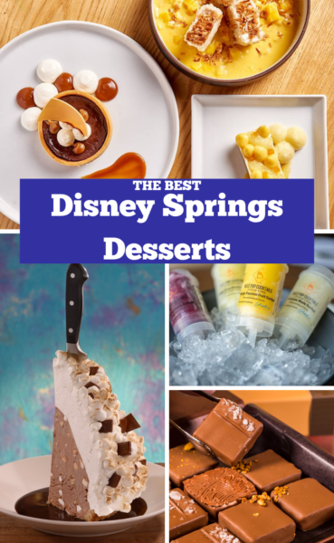 Disney Springs Desserts: Hunt down the most popular fan-favorite desserts that Disney Springs has to offer! #DisneySprings #DisneyWorld #WaltDisneyWorld #DisneyTips #DisneyWorldTips #VacationPlanning #Orlando
