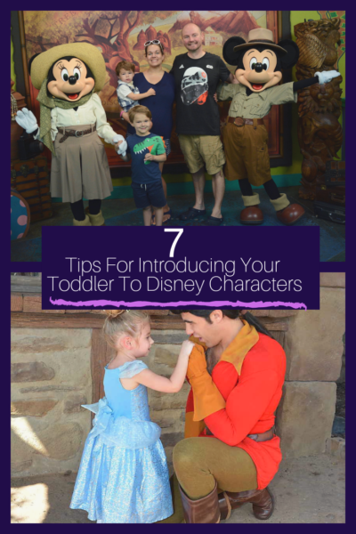 How to introduce your toddler to Disney World Characters: the best tips for shy kids, capturing the best photos and making the most of your time! #DisneyWorld #DisneyWorldCharacters #DisneyTips #DisneyWorldTips #WaltDisneyWorld #DisneyWithKids