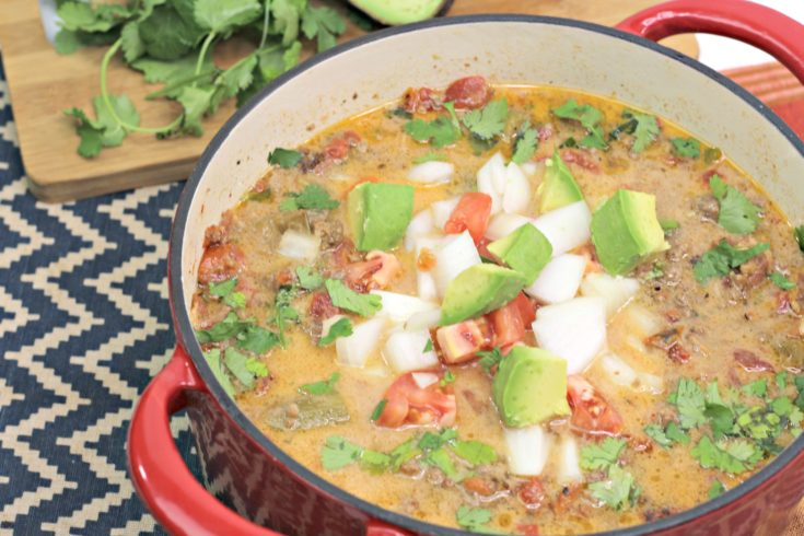 Slow Cooker Beef Enchilada Soup Recipe: An Easy One-Bowl Dinner