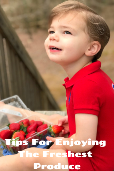 #AD How to enjoy the freshest produce: from shopping ideas to recipes! #FreshFromFlorida #FFF