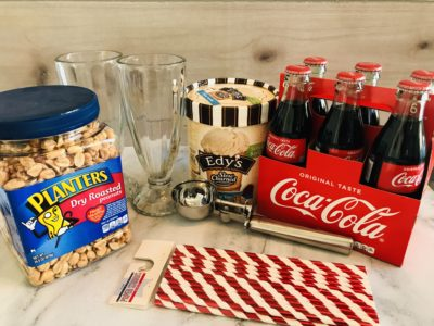 Peanuts in Coke, Peanuts in Coke Float, Float Recipe, Fountain Drink Recipe, Coke Float Recipe
