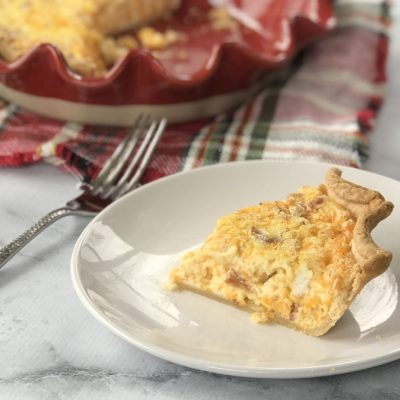 The Easiest Quiche Lorraine Recipe For Make-Ahead Brunch