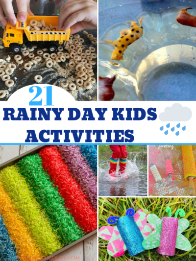 If the rain is coming, get ready with these rainy day kids activities! With many of them costing little or nothing, they're the perfect indoor kids activities. #IndoorKidsActivities #KidsActivities #IndoorGames #KidsEntertainment #KidsCrafts
