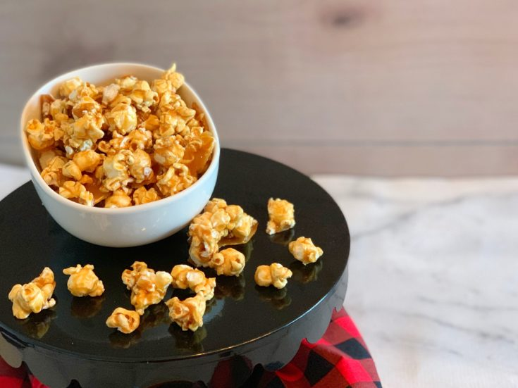 Easy Baked Caramel Corn Recipe - Without Corn Syrup