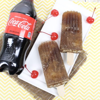Frozen Jack and Coke Popsicles Are Your Boozy Summer Treat