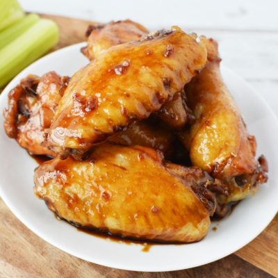 Baked Teriyaki Chicken Wings – Easy Recipe For BBQ's & Tailgating