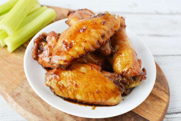 Baked Teriyaki Chicken Wings - Easy Recipe For BBQ's & Tailgating