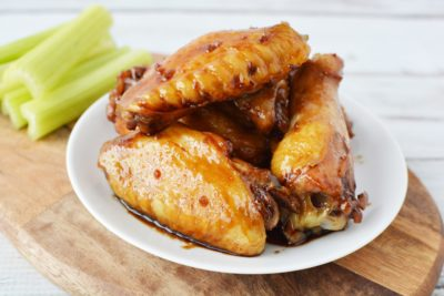 Baked Teriyaki Chicken Wings, Baked Chicken Wings, Tailgating Recipe, Summer BBQ Recipe, Easy Chicken Wings, Easy Teriyaki Chicken Wings