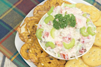 Southwest Crab Dip, Crab Dip Recipe, Cold Crab Dip Recipe, Tailgating Food, Party Food Recipe