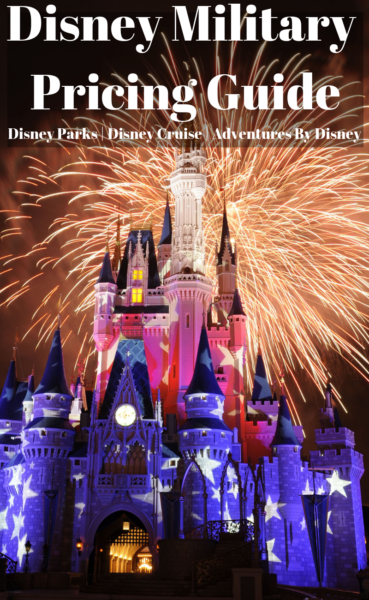 Disney Military Discounts: This is a complete guide to all of the military pricing for Walt Disney World, Disneyland, Disney Cruise Line and Adventures By Disney! #DisneyWorld #DisneyPlanning #DisneyCruise #DisneyTips #DisneyVacationPlanning #Disneyland