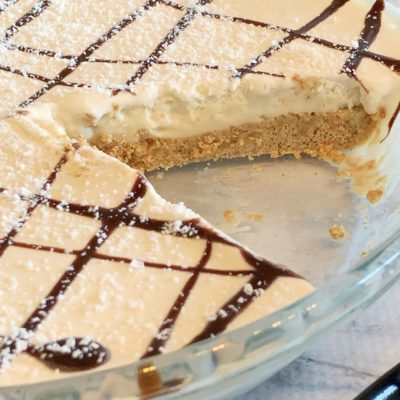 Easy Frozen Brandy Alexander Pie Recipe With Graham Cracker Crust