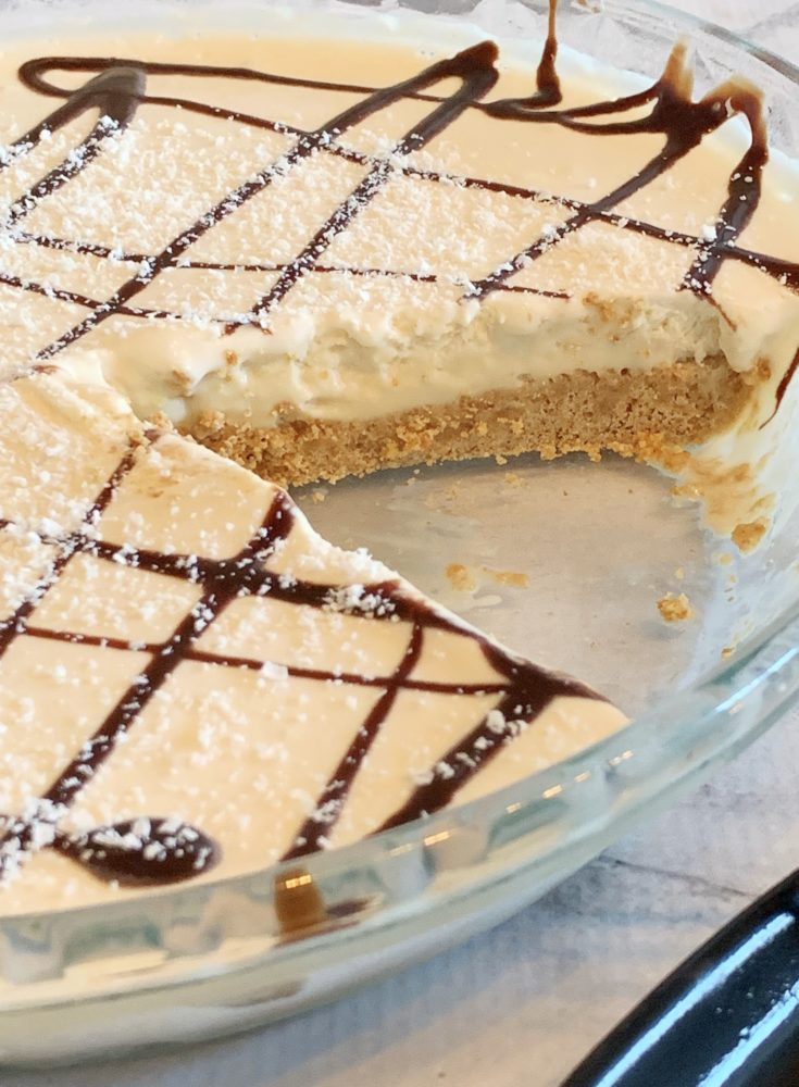 Easy Frozen Brandy Alexander Pie Recipe With Graham Cracker Crust