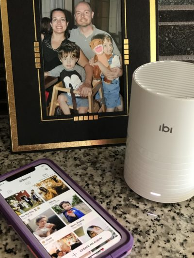Organize Your Photos, ibi photo manager review, ibi photo storage device, photo sharing device