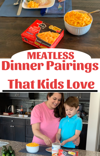 #AD Grab the kids and let them get hands on, in the kitchen, with kid-friendly meatless dinner pairings! #CAMPAIGN HASHTAG