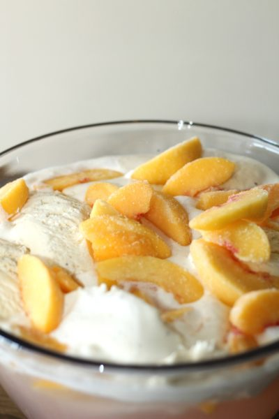 Peaches and Cream Punch, Peach Party Punch, Peach Punch Recipe, Baby Shower Punch Recipe, Bridal Shower Punch Recipe