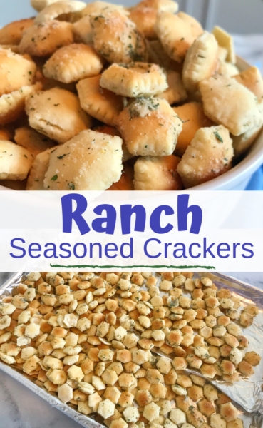 Ranch Seasoned Crackers: These are addictive! Better than anything you can buy in the store, these seasoned crackers are perfect the perfect snack recipe or tailgating recipe! #Crackers #Tailgating #SnackRecipe #SeasonedCrackers #EasyRecipe