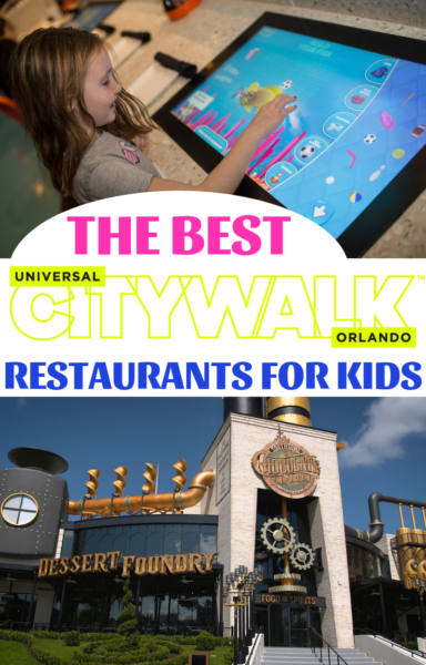 Universal Orlando Tips: The best CityWalk Orlando restaurants for kids! Don't take your Universal Studios vacation without reading this first. #UniversalOrlando #UniversalStudios #Orlando #CityWalk #UniversalStudiosOrlando