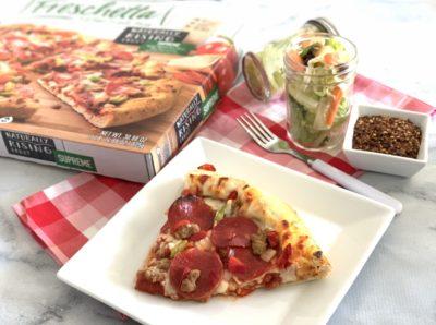 Easy Mason Jar Salads, Freschetta Pizza Pairings, Freshchetta Pizza