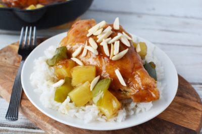 Hawaiian Chicken Recipe, Sweet Hawaiian Chicken Recipe, Teriyaki Glazed Chicken, Easy Hawaiian Chicken
