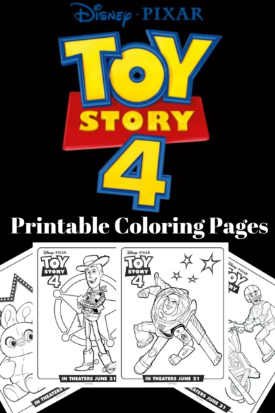 FREE Toy Story 4 Coloring Pages: download and print these Disney coloring pages! #ToyStory4 #DisneyColoringPages #ToyStory4Coloring #DisneyCrafts #ToyStoryCrafts