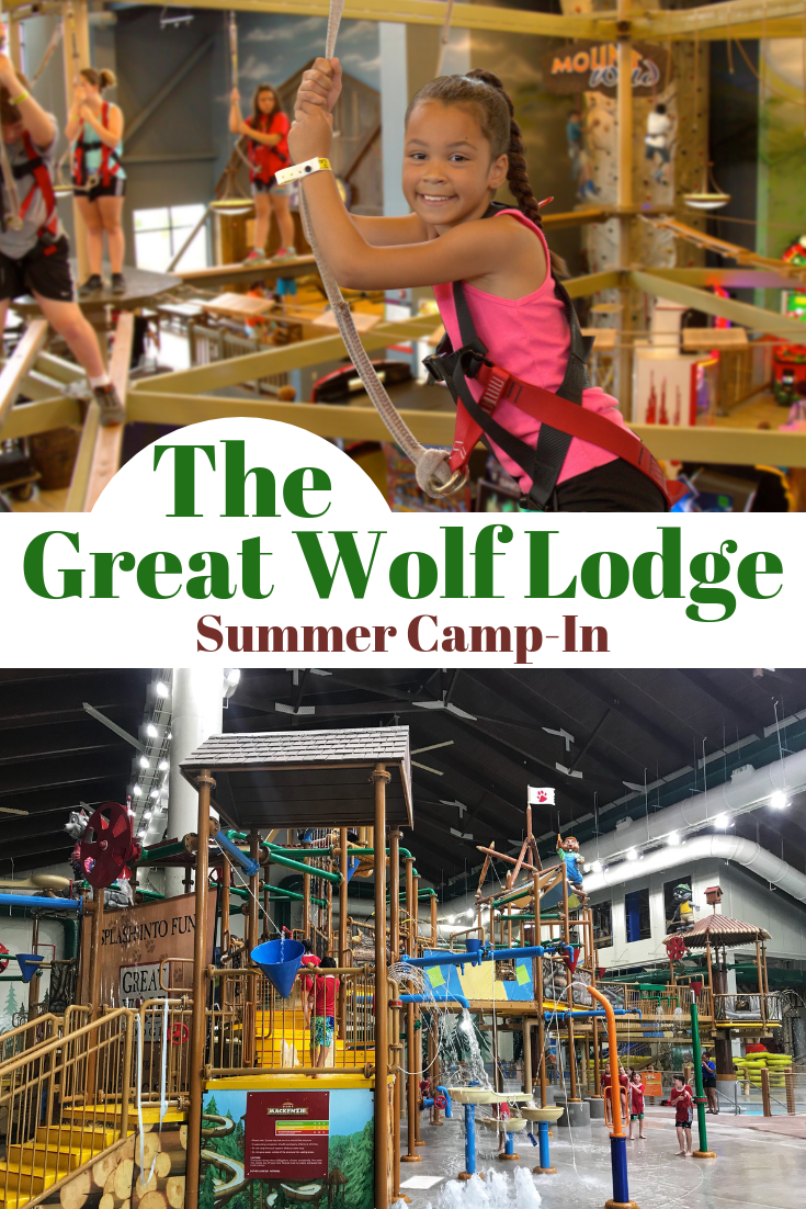 Find Good Ol' Fun At The Great Wolf Lodge Summer Camp-In