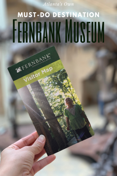 Everything you need to know about visiting one of Atlanta's favorite destinations: the Fernbank Museum! #FernbankMusuem #ATLWorldofWOW #AD #Atlanta #AtlantaTravel #AtlantaEntertainment