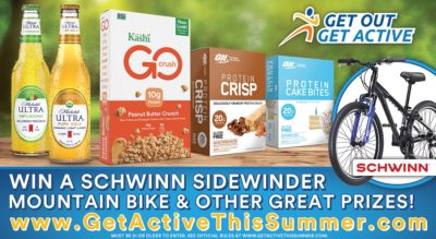 Get out Get Active Sweepstakes, Living A Balanced Lifestyle, Active Lifestyle Tips