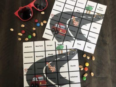 Printable Road Trip Bingo, Free Printable Road Trip Bingo, Kid's Road Trip Bingo Cards