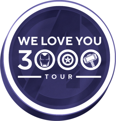 """We Love You 3000"" Tour Dates, Marvel Studios, Avengers Endgame"