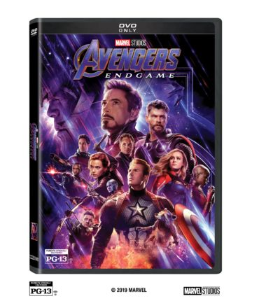Avengers: EndGame DVD, Avengers End Game