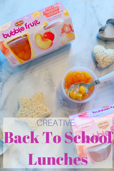 #AD These 3 tips will help keep school lunches exciting, even after the back to school year excitement is over. Grab NEW Del Monte Bubble Fruit, from Walmart, as an exciting lunch box addition. PLUS, enter the Back to School Sweepstakes for a chance to win a $50,000 scholarship and other great prizes! (No Purch Nec. Official Rules at http://goic.io/wv9JKi. Ends 9/15/19) #BacktoSchoolatWalmart #DelMonte