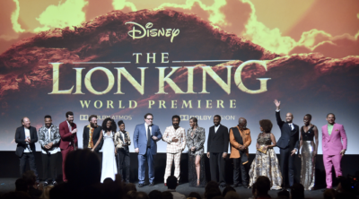 2019 Disney's Lion King Premiere, Disney's Lion King Premiere Full Cast Photo, Disney's 2019 Lion King Cast Photo