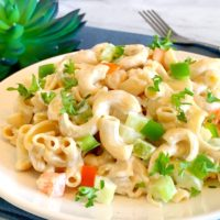 Easy Macaroni Salad Recipe, Protein Pasta Recipe, Modern Table Pasta, Modern Table Pasta Recipe