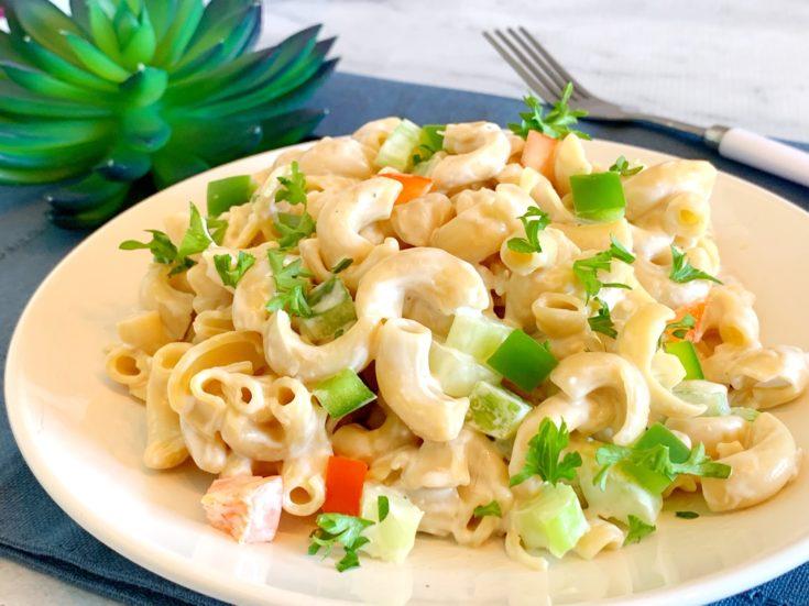 Savory Macaroni Salad Recipe