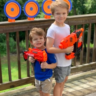 DIY Nerf Targets For A fun Backyard Party Idea