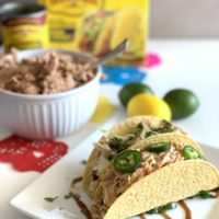 Two Way Family Taco Night: BBQ Chicken & Classic Chicken Tacos
