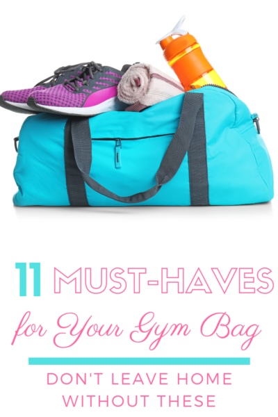Going to the gym? Don't leave home without these 11 gym bag essentials for women! #WindstoneFarmsPB #AD #FitnessTips #GymTips