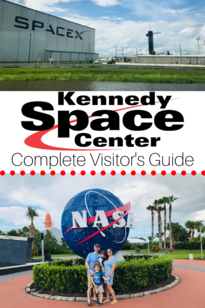 Kennedy Space Center Visitor Tips: See why it's a central Florida must do for families and what parts are best for young kids! #KennedySpaceCenter #VisitFlorida #FloridaTravel #FamilyTravel