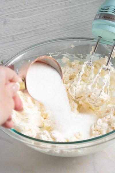 No-Bake Almond Cheesecake Steps, No-Bake Almond Cheesecake Recipe, No-Bake Almond Cheesecake Ingredients
